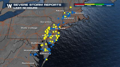 Two Tornadoes Confirmed in the Northeast Wednesday