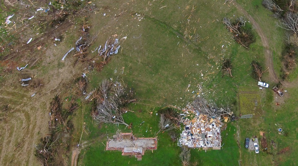 Using Drones to See Tornado Damage in Remote Areas