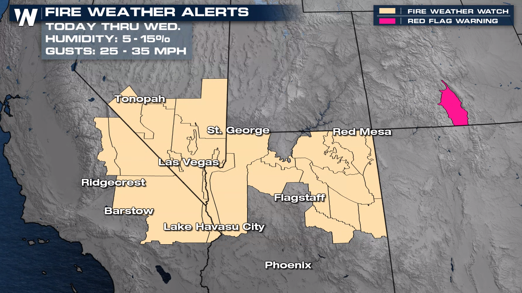 High Fire Danger Continues in the Southwest
