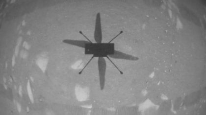 1st Helicopter Flight on Mars A Success!
