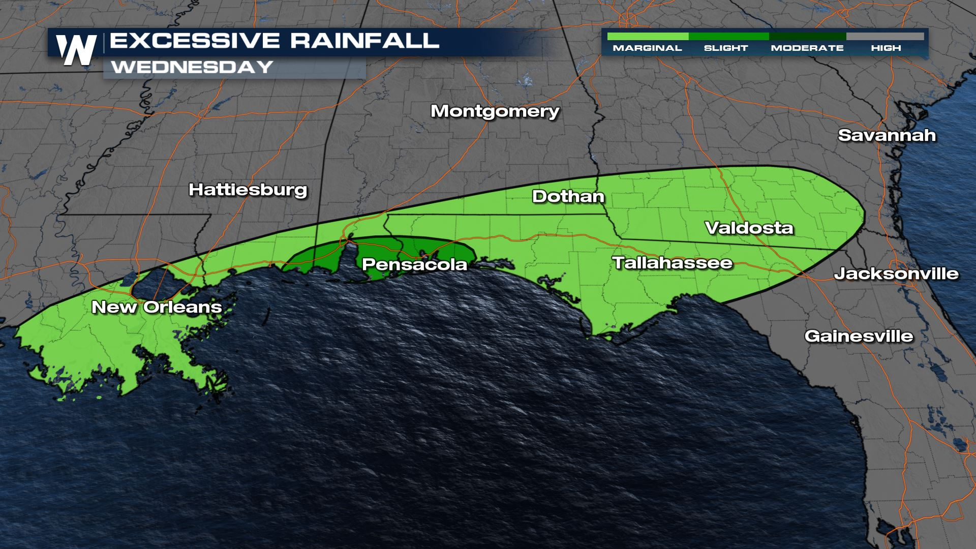 Flood Threat for the Gulf Coast Continues