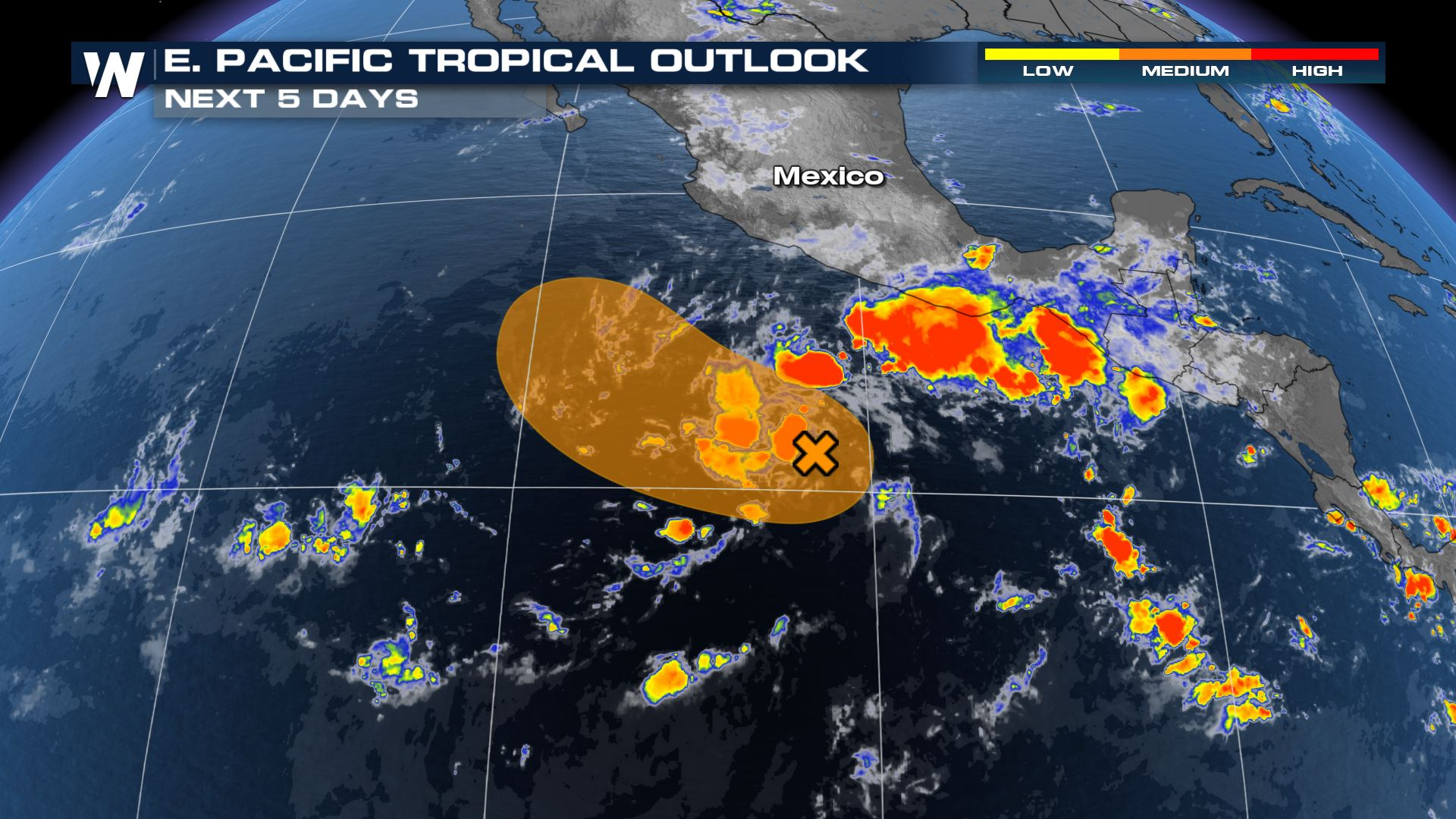 Low in the Eastern Pacific Could Develop into First Tropical System of the Season