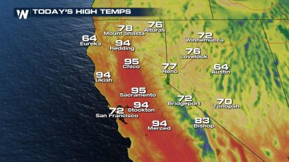 Heat, Drought, and Fire Concern for the West