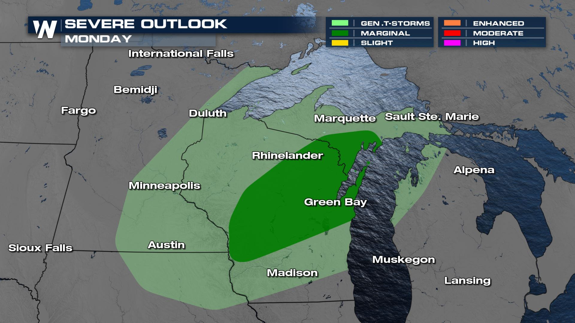 Storm Risk in the Upper Midwest