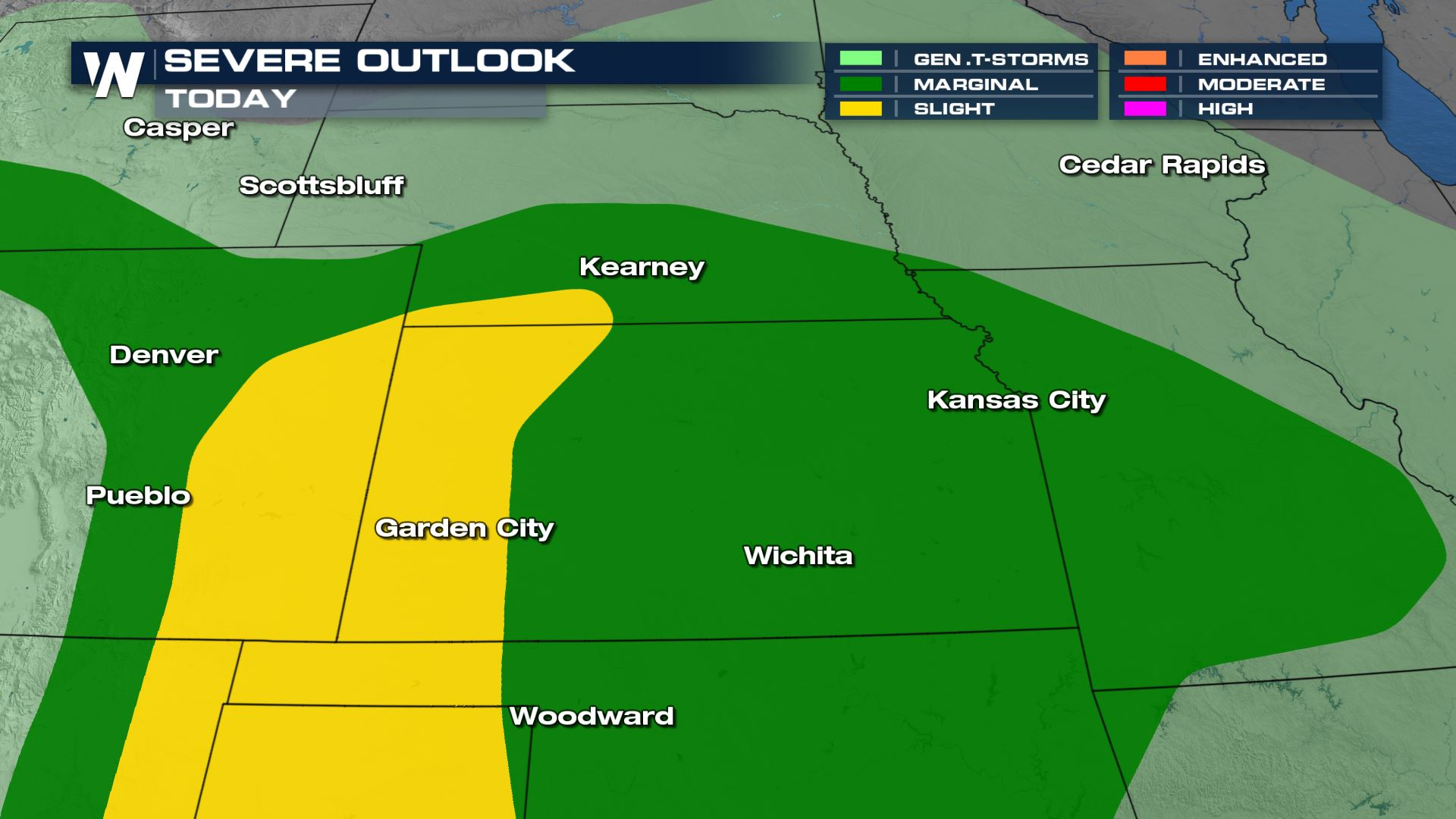 Another Round of Storms for the Front Range & I-70 Sunday