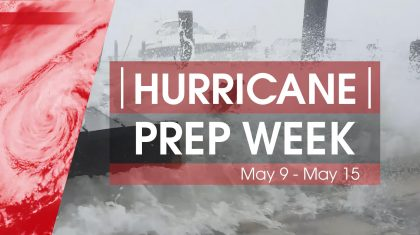 Hurricane Preparedness Week 2021