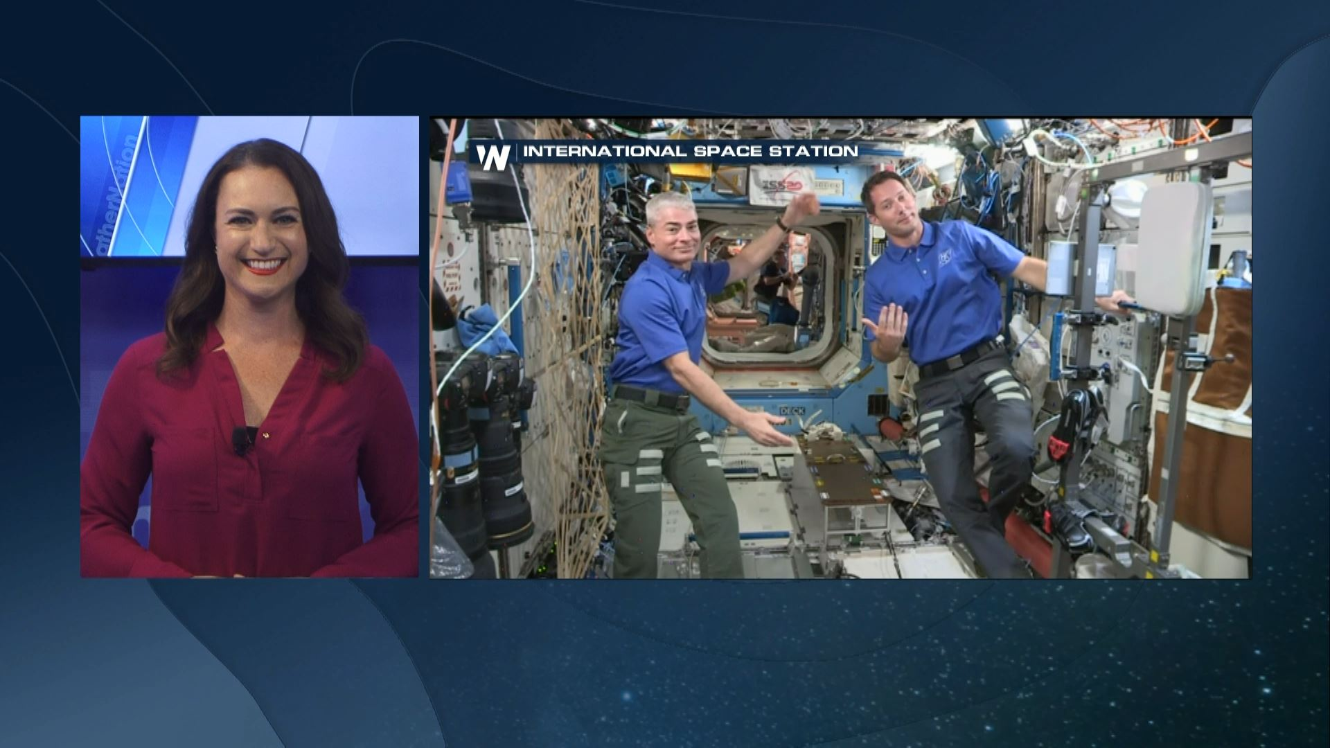 Interview with Astronauts on the International Space Station