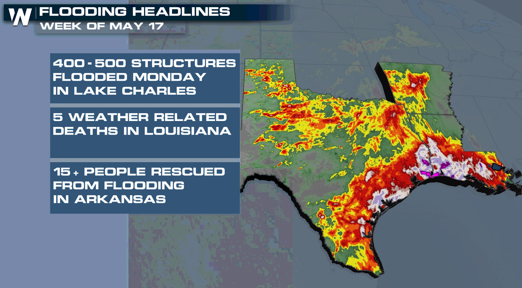 Deadly Flooding in Texas and Louisiana