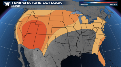 June Outlook from the Climate Prediction Center