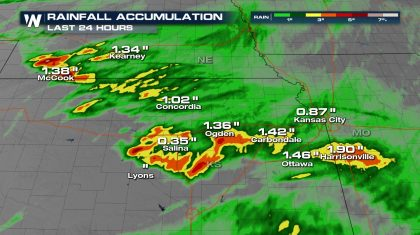 Flooding Threat Returns to Central United States