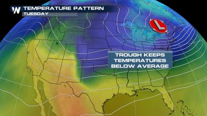 A Cold Start to May for Many Across the U.S.