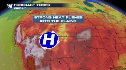 Dangerous Heat Continues through the Weekend