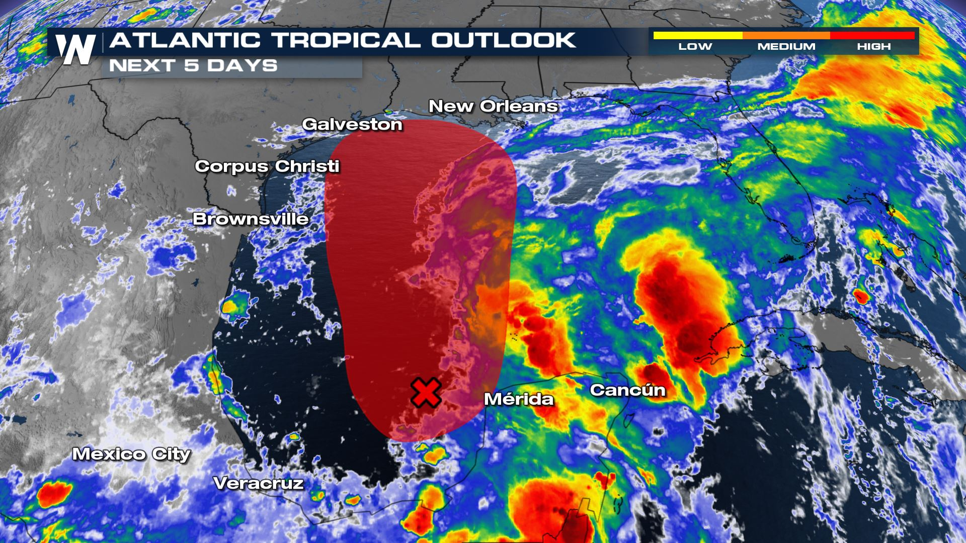 Tropical Depression Likely to Form in the Gulf
