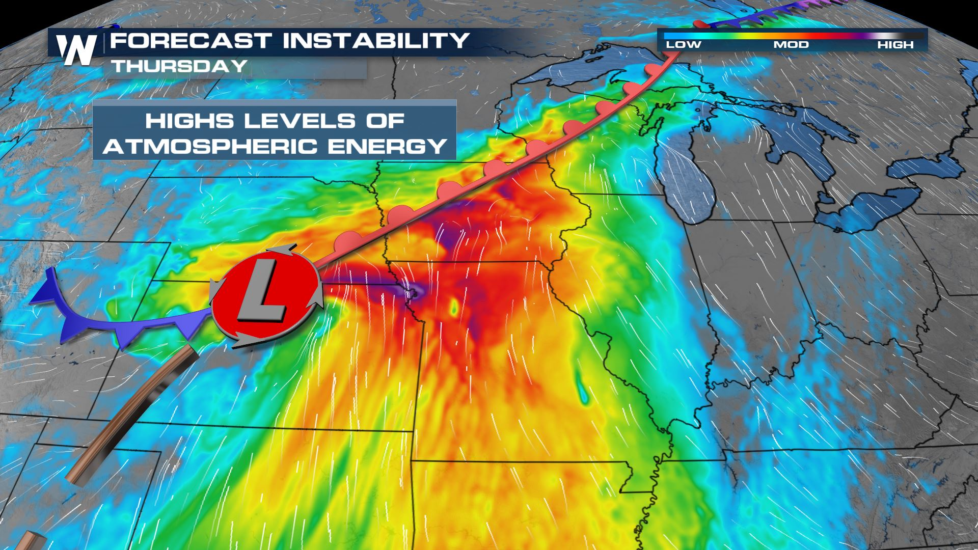 Severe Weather Threat in the Midwest & Plains
