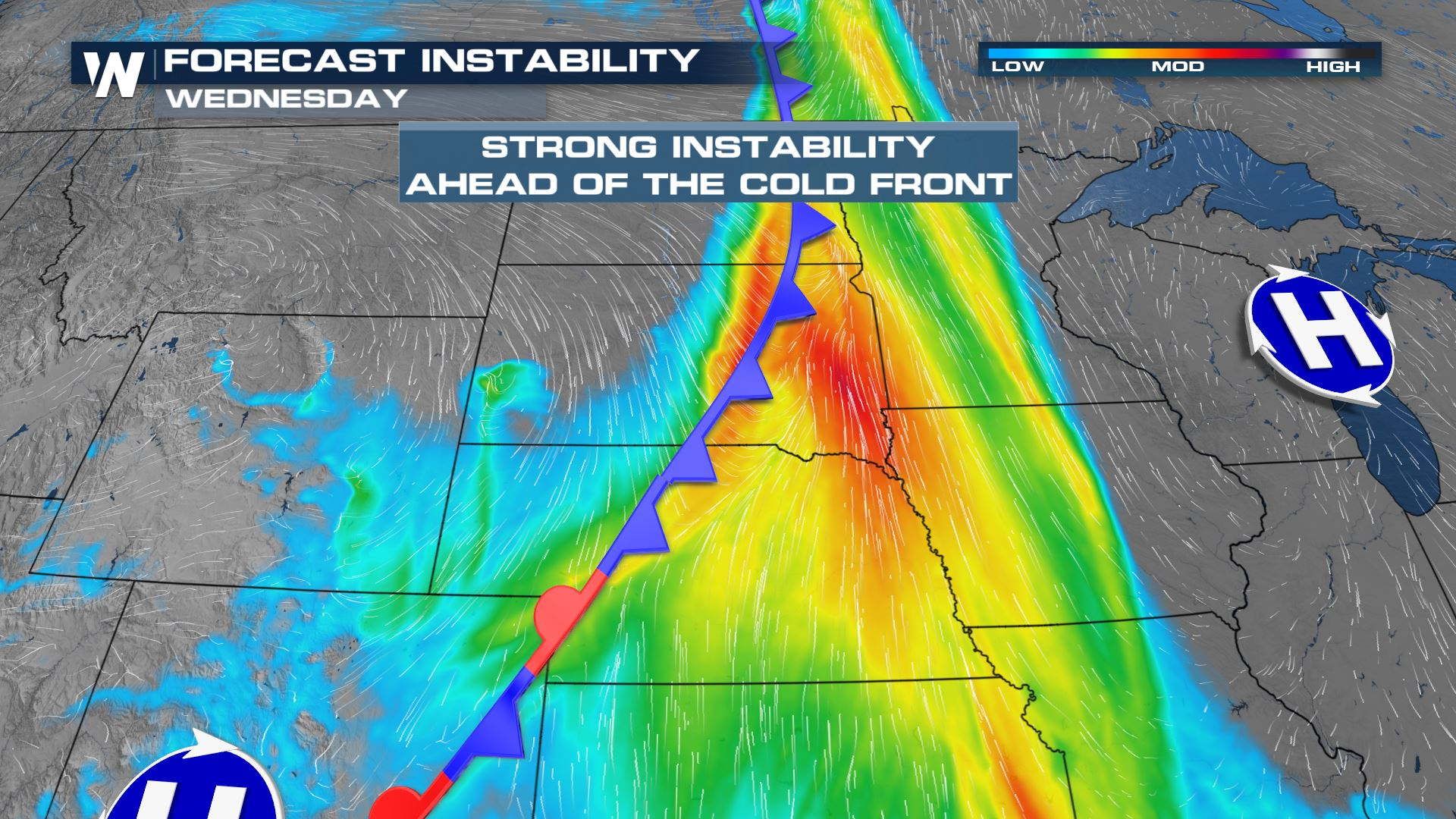 Severe Risk Targets the Northern U.S. Over the Next Few Days