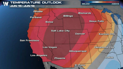 Excessive Heat to Build Over the Western U.S.