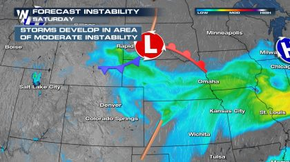 Rounds of Severe Weather for the Rockies this Weekend