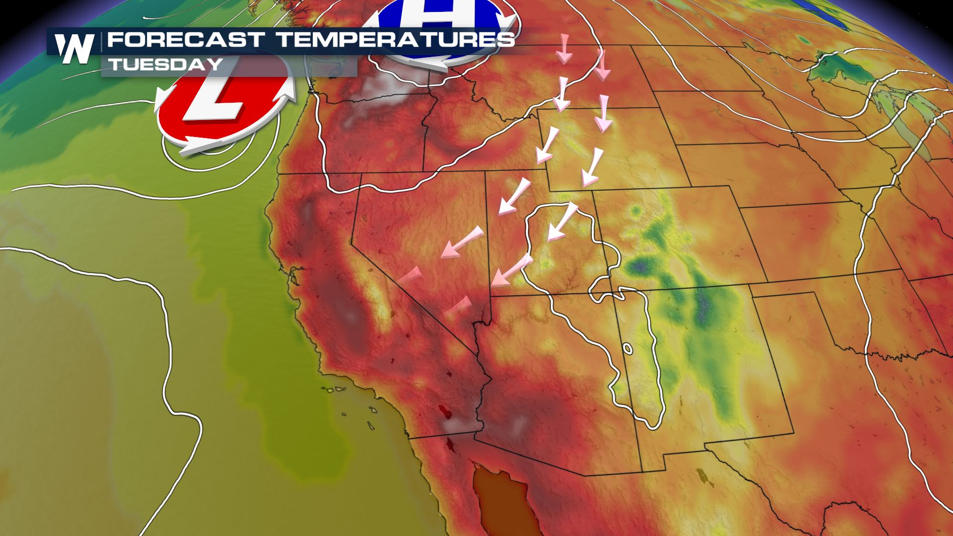Fire Risk Continues Across the West