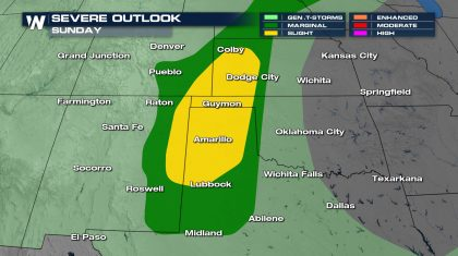 Severe Weather Potential for the 4th of July Holiday