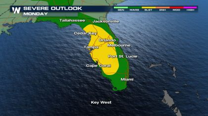 Florida Storms Lead to Flooding Threat
