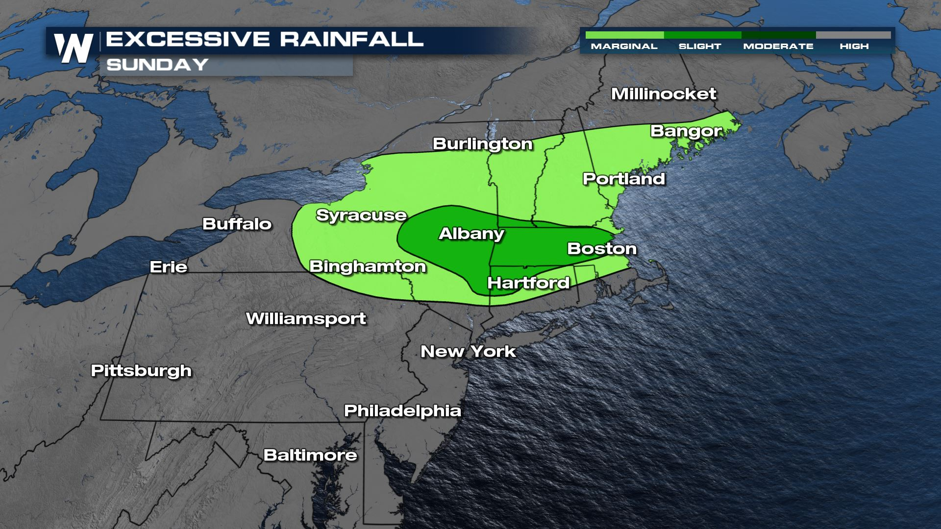 Heightened Risk For Flash Flooding in the Northeast