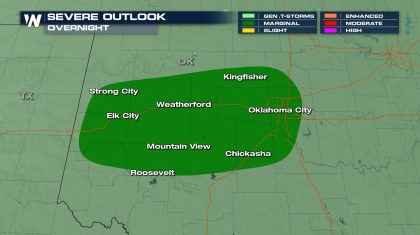 Overnight Storms for the Plains