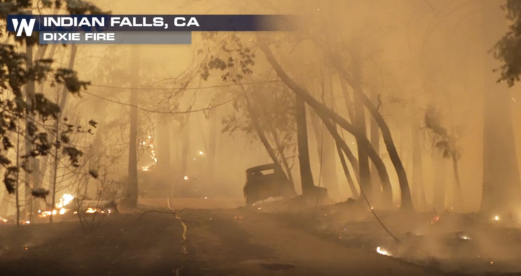 Massive Wildfires Continue to Burn in the West
