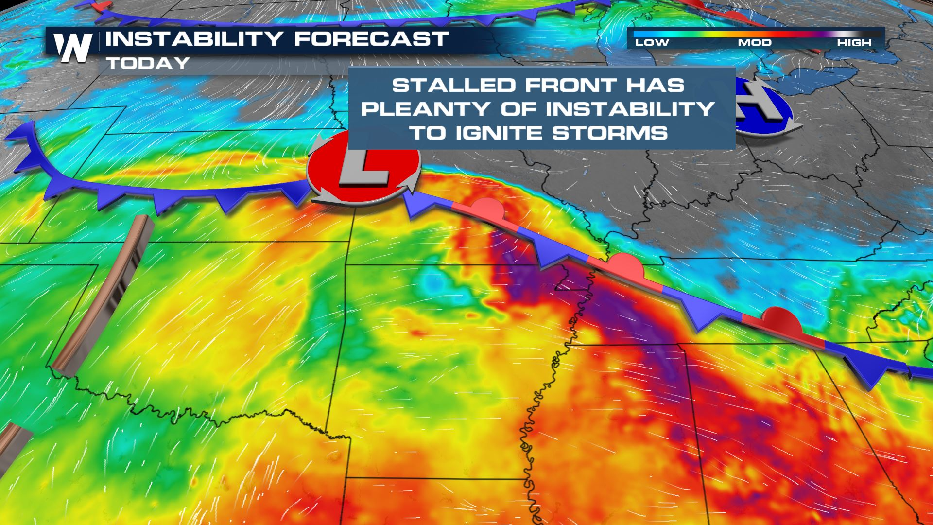 Severe Weather Potential Across the Central Great Plains