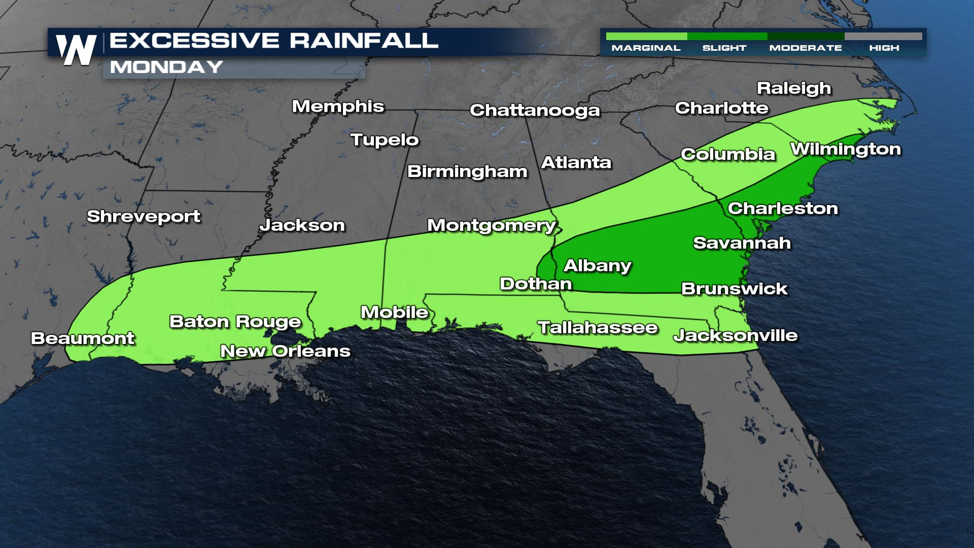 Stormy Days Ahead for the South