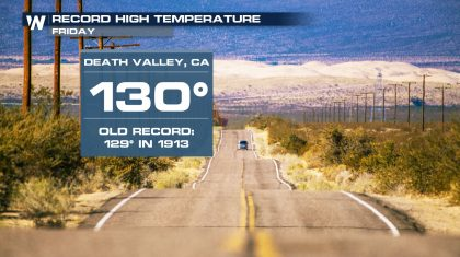 All-Time Record Heat Established in the West