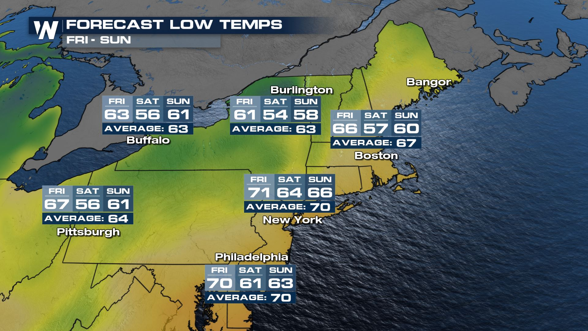 Feeling Like Fall for the Northeast This Weekend