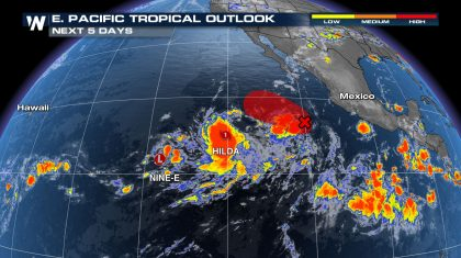 Eastern Pacific Stays Active this Weekend