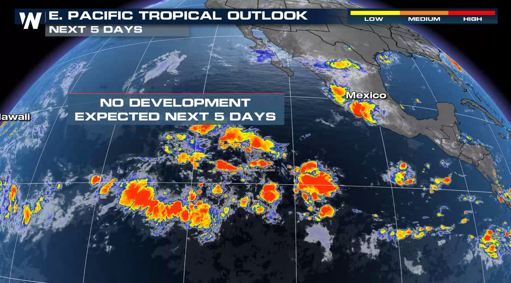 Felicia and Guillermo Weaken in the Pacific