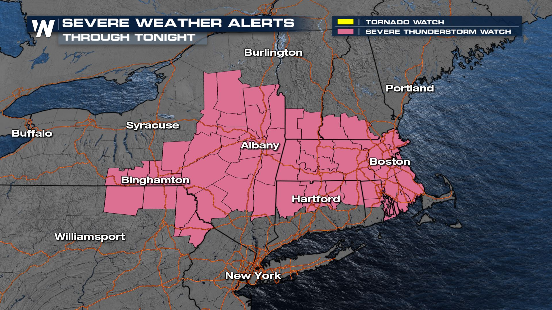 Damaging Wind Threat for Parts of the Northeast