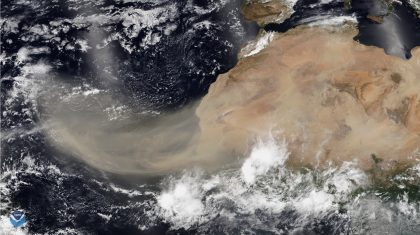 The Importance of Tracking the Saharan Air Layer