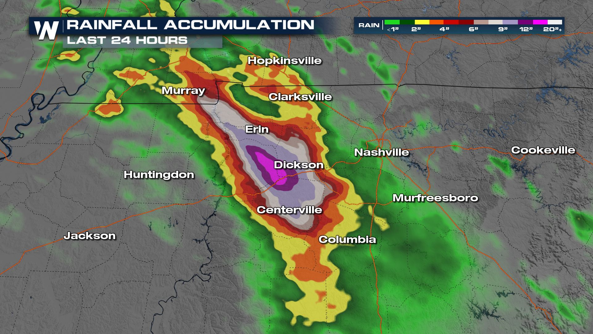 Catastrophic Flooding Hits Central Tennessee