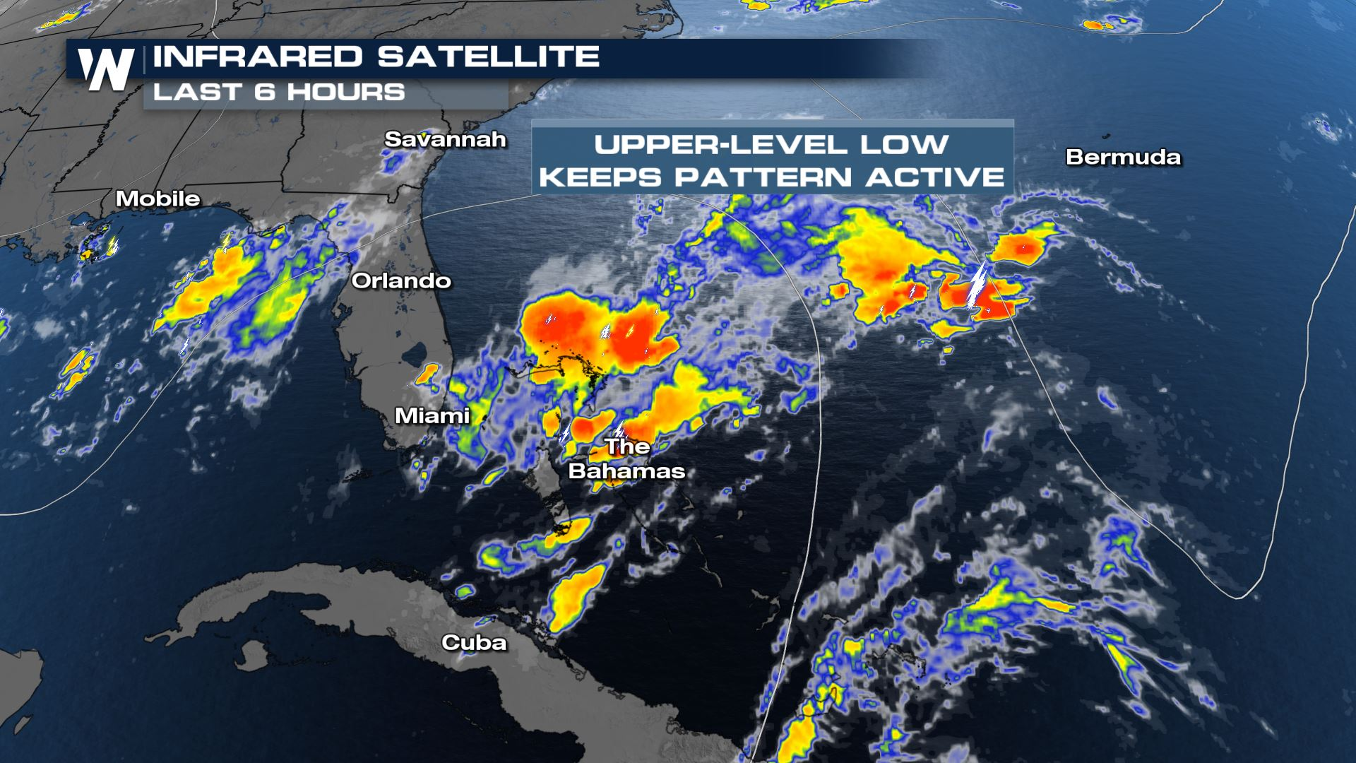 Flooding & Isolated Severe Storms Possible Along the East Coast