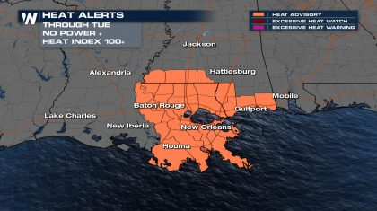 Lingering Impacts From Ida - Heat Alerts For Those Without Power