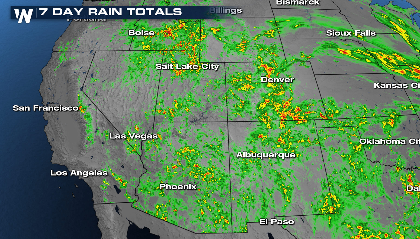 Monsoon Moisture Brings Flooding Threat to the Rockies and Front Range