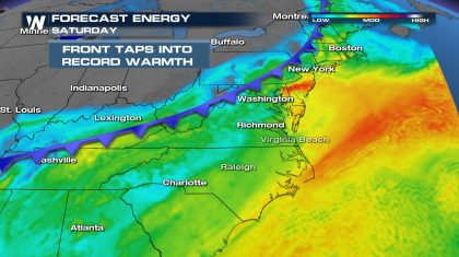 Another Round of Severe Storms in the Northeast Today