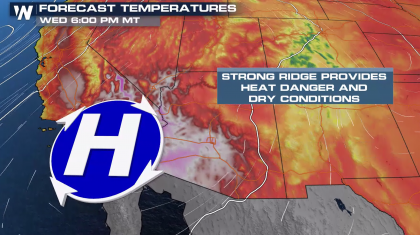 Excessive Heat Returns to the West