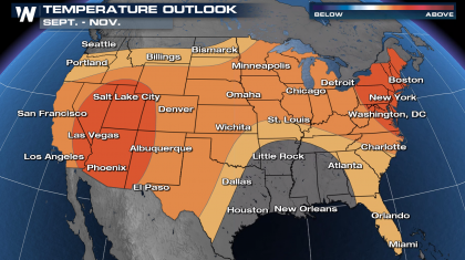 Fall Outlook Highlights Warm and Dry Conditions