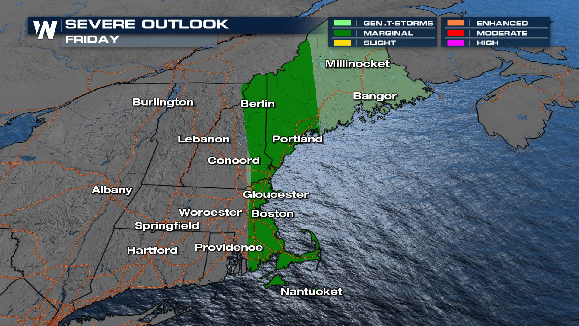 Severe Weather & Flood Threat for the Northeast