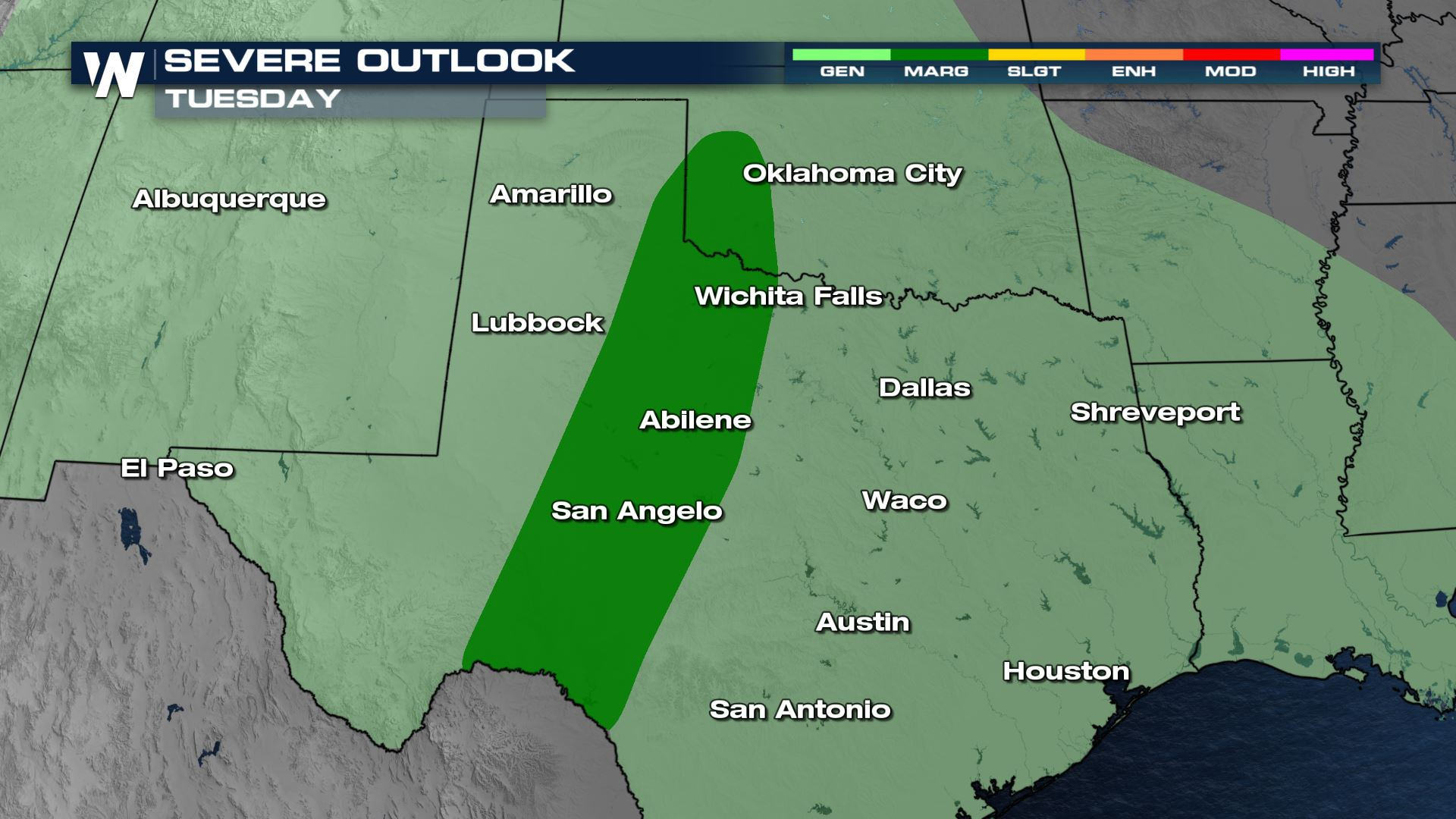 Stormy Pattern Building for the South-Central U.S. Over The Next Few Days