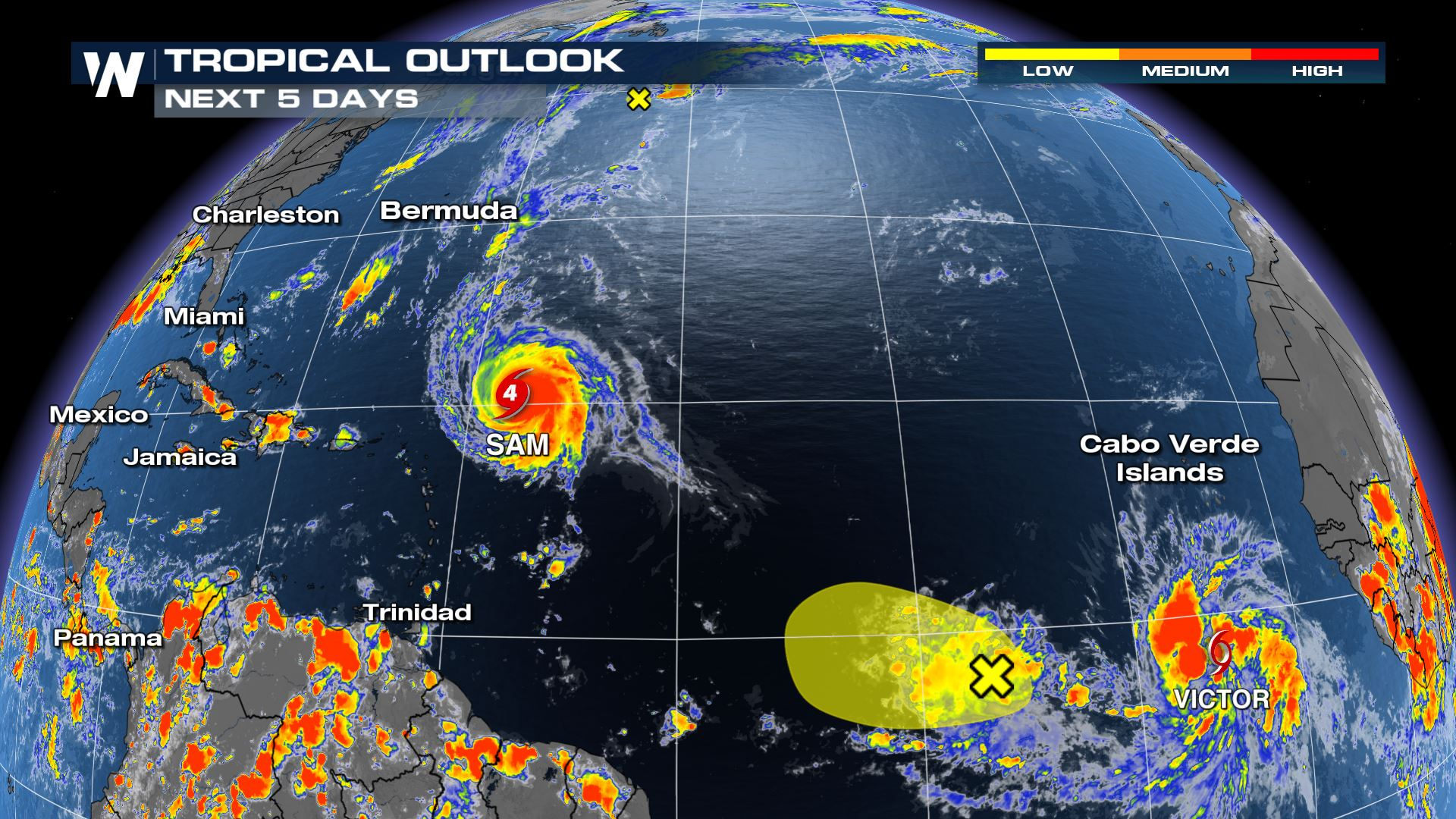 Atlantic Tropical Update - Monitoring 2 Areas of Interest