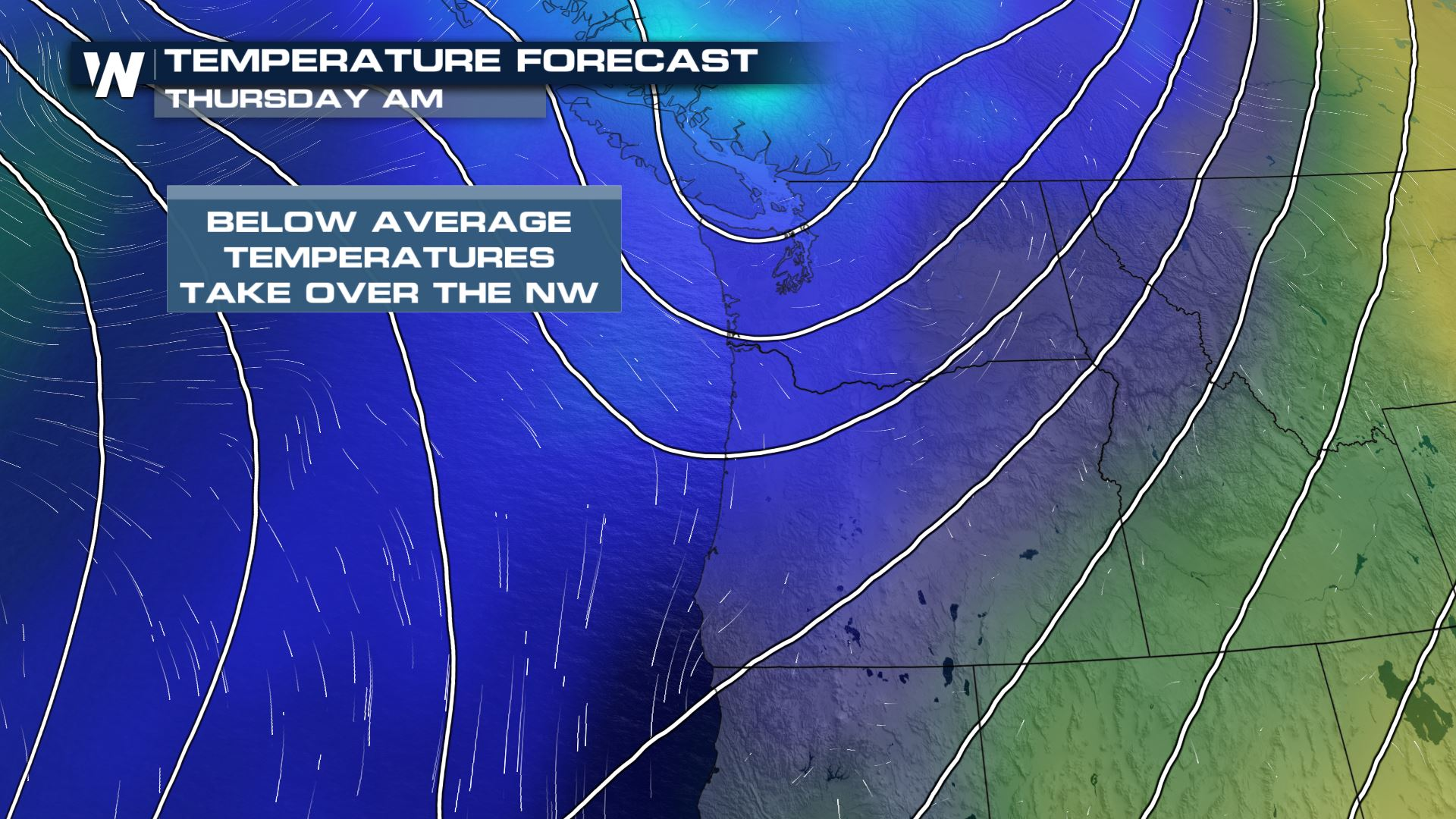 Cooler Air Moves through the Northwest this Week