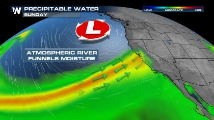 Intense Storm to Impact the West Sunday into Monday