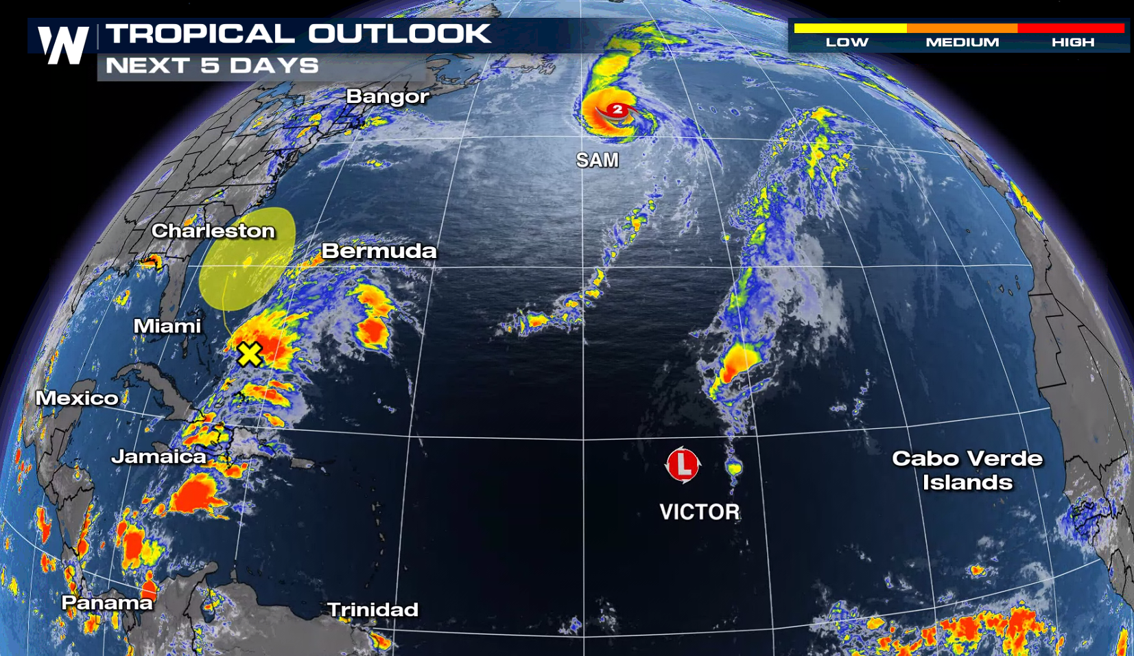 Victor Now A Depression in the Eastern Atlantic