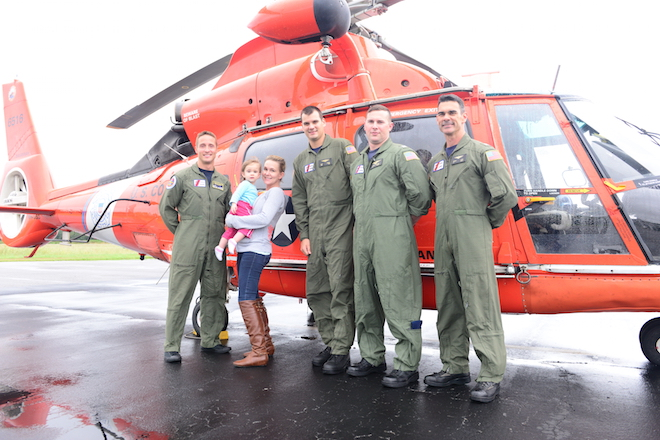Coast Guard rescues stranded mother, infant from flooded house