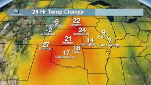 Rapidly Rising Temperatures, Rare November Moderate Day 2 Severe Threat